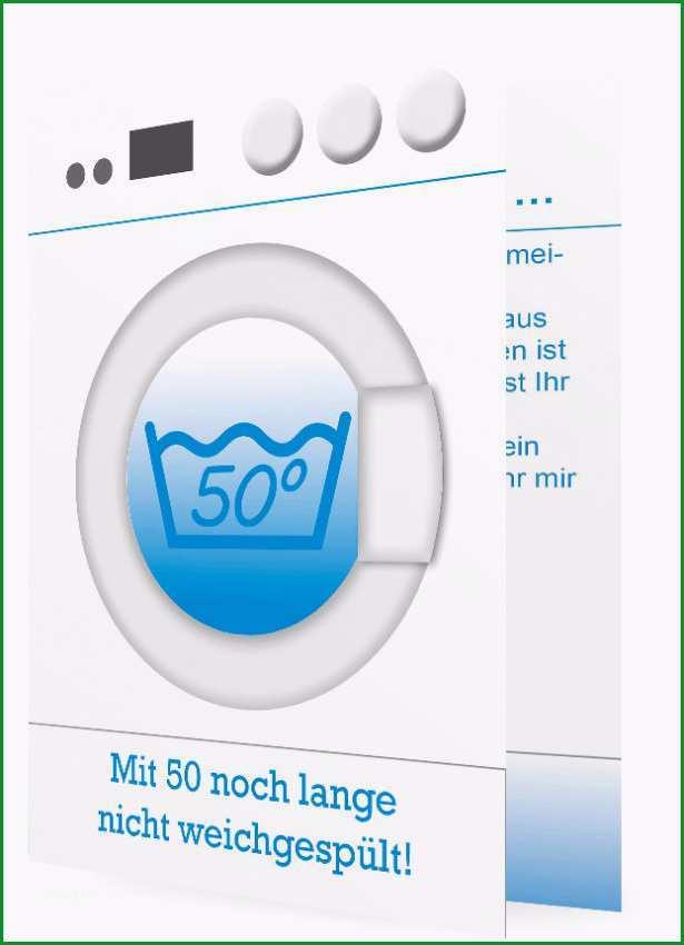 50 Geburtstagseinladung Waschmaschine 1071