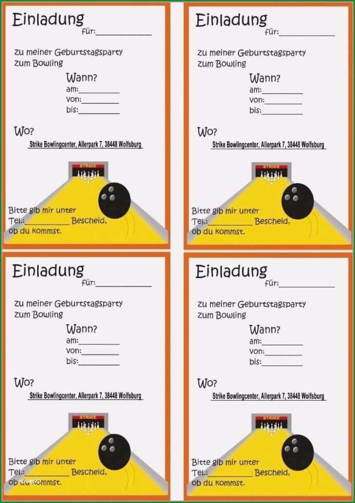 bowling einladung vorlage kostenlos gut einladung kindergeburtstag bowling zum ausdrucken