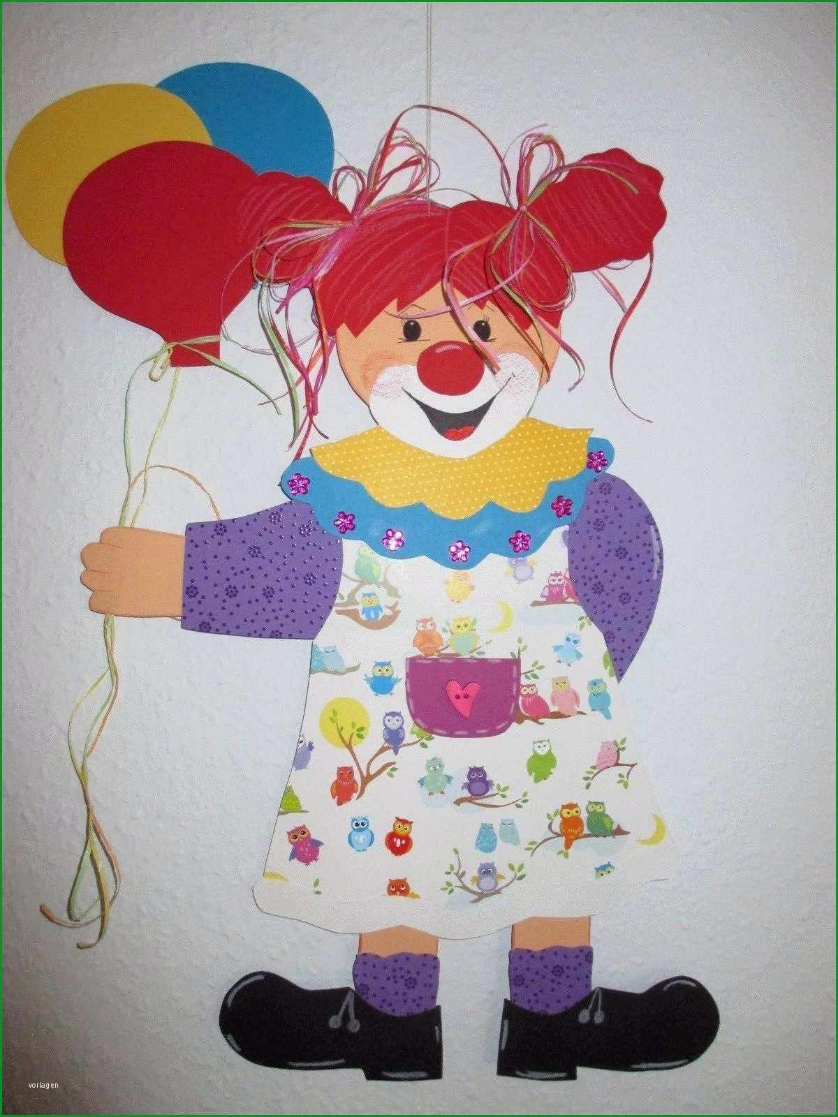 fensterbildtonkarton clownin violetta xxlherbstwinterfasching bestimmt fur clown basteln vorlage