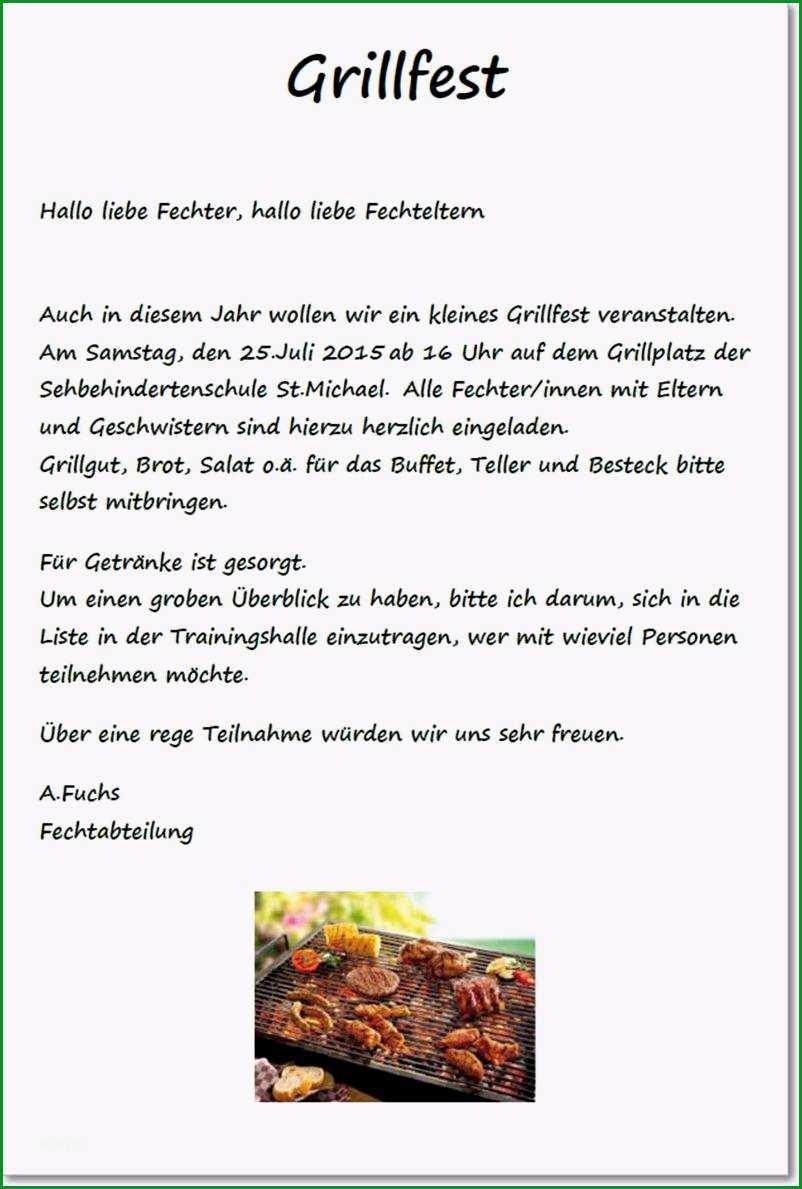 grillfest einladung