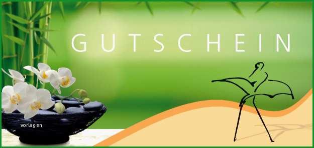 gutschein massage wellness