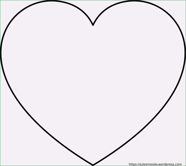 Großartig Herzform Vorlage