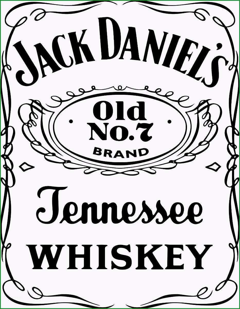 Jack Daniels clipart transparent
