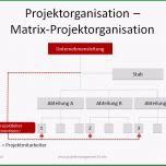 Großartig Matrix Projektorganisation