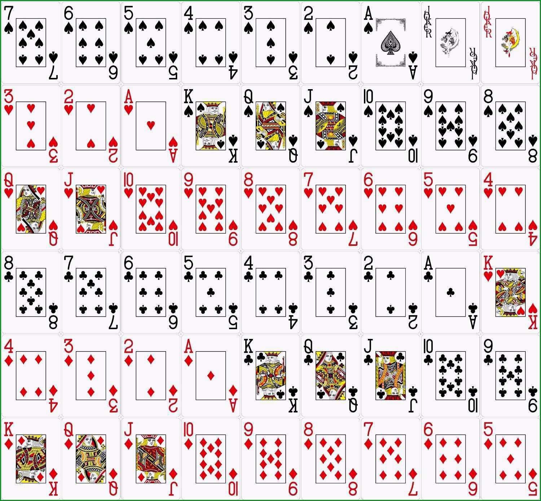 spielkarten selber drucken vorlage sus alle karten ihr experte