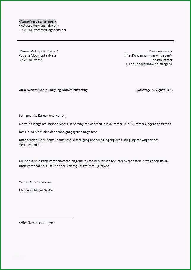 vorlage kundigung mietvertrag durch vermieter rustikal fristlose kundigung wohnung fristlose ka 1 4 ndigung mietvertrag