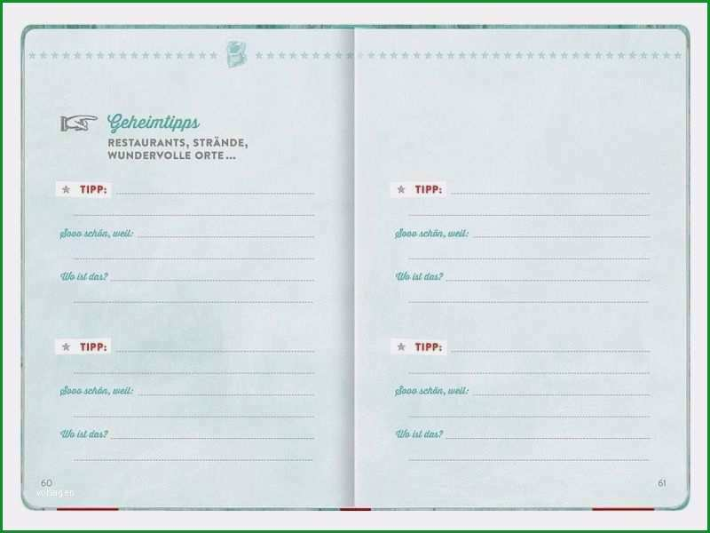 16 reisetagebuch vorlage