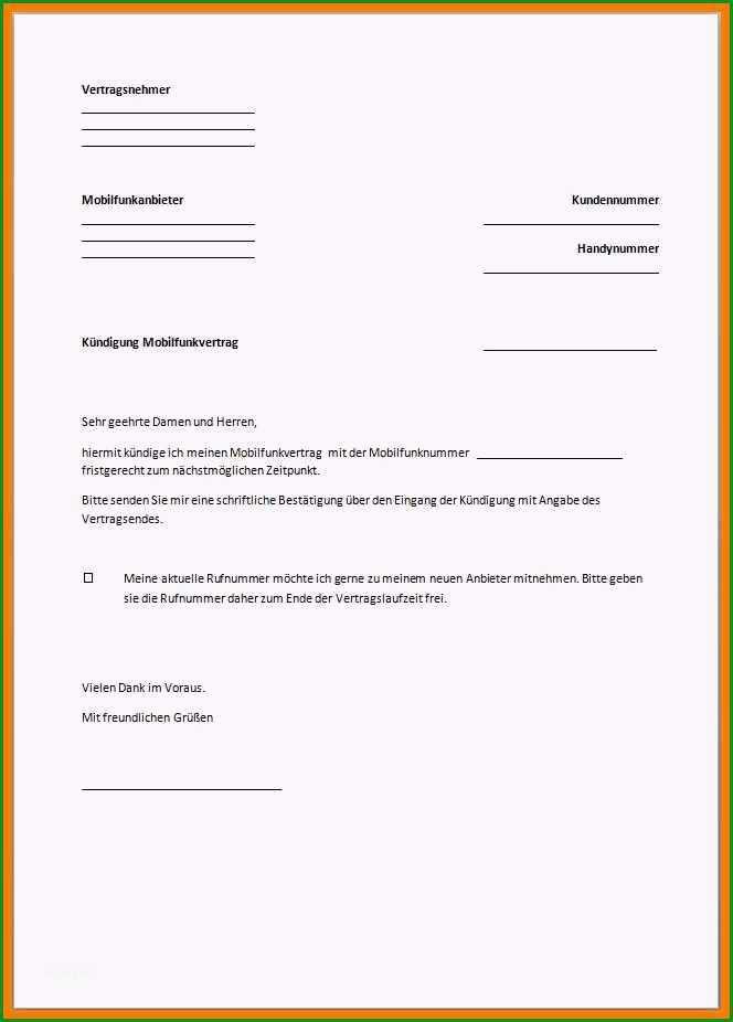 16 vodafone kundigung vorlage pdf