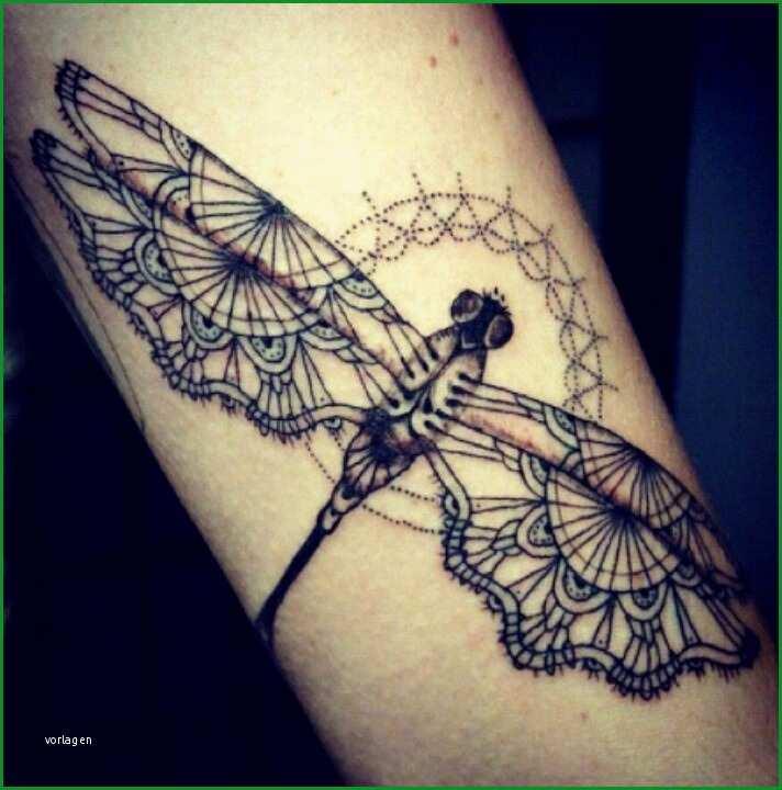 libellen tattoo design