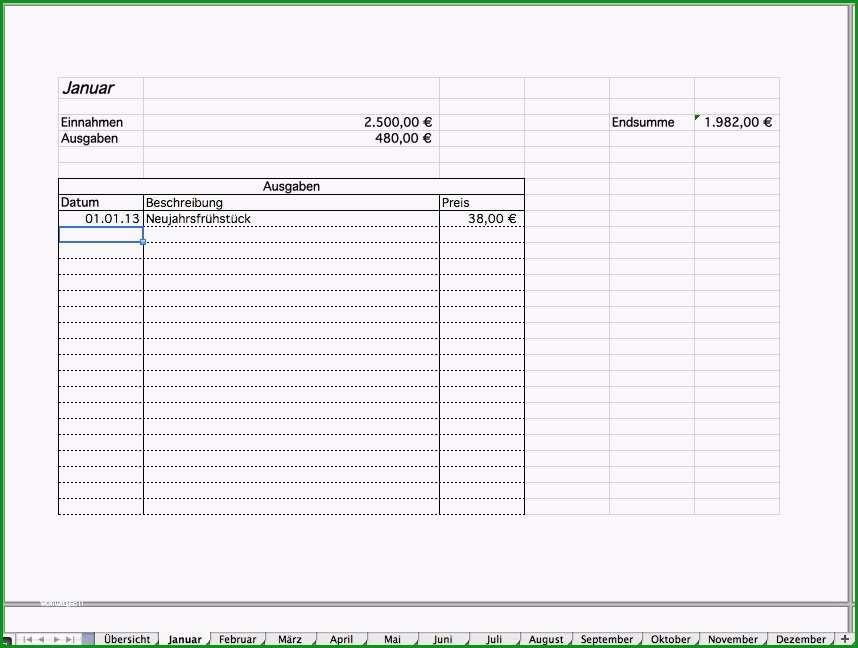 einnahmen ausgaben vorlage openoffice frische haushaltsbuch alstabelle einnahmen ausgaben vorlage