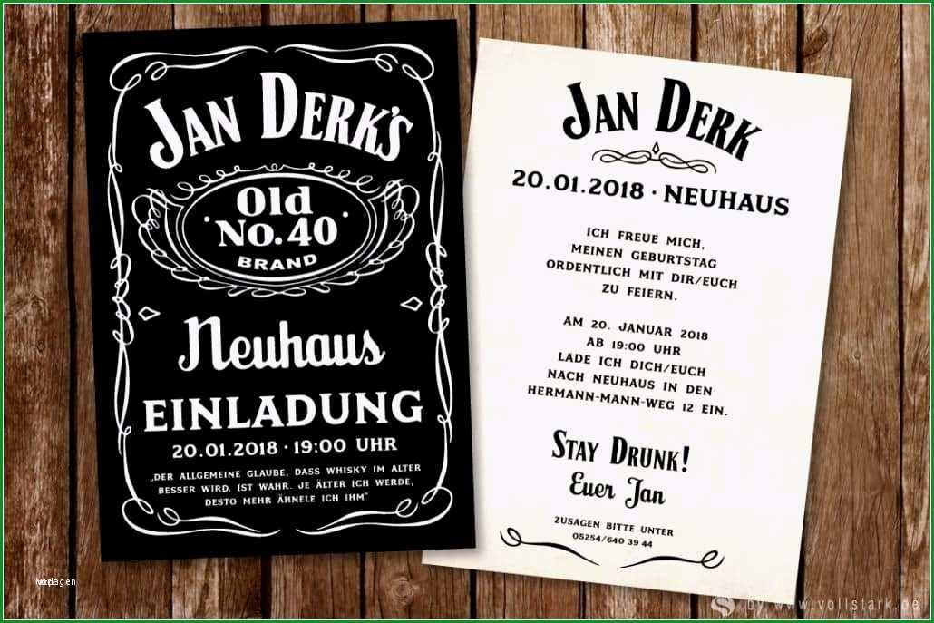jack daniels einladung vorlage beste jack daniels geburtstag einladung tafel 40 von