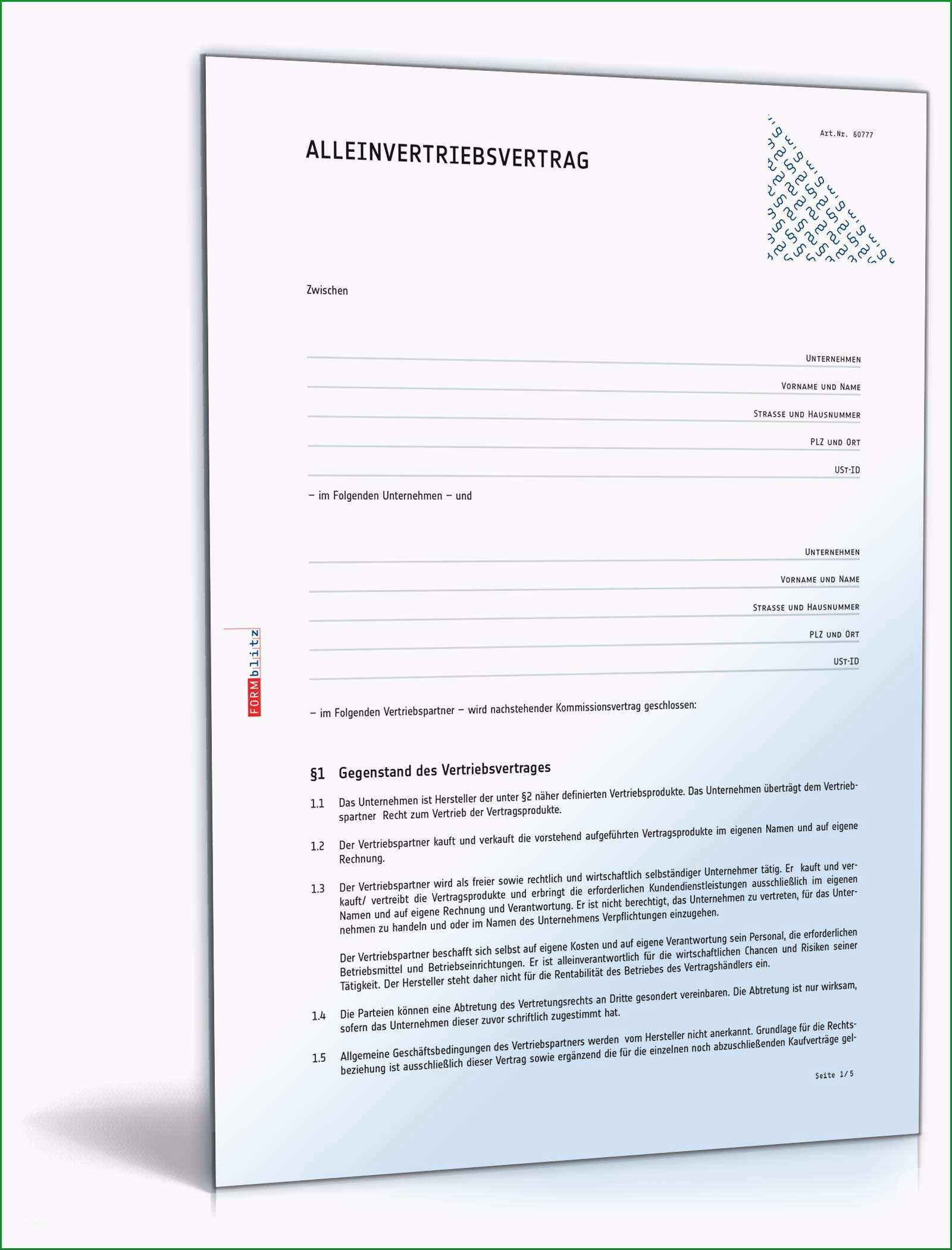 kooperationsvertrag vorlage gut geheimhaltungsvereinbarung englisch vertriebsvertrag muster kostenlos