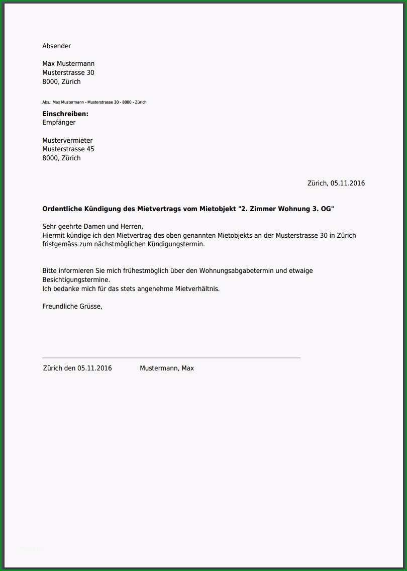 imgsearch=kündigung mietvertrag musterbrief