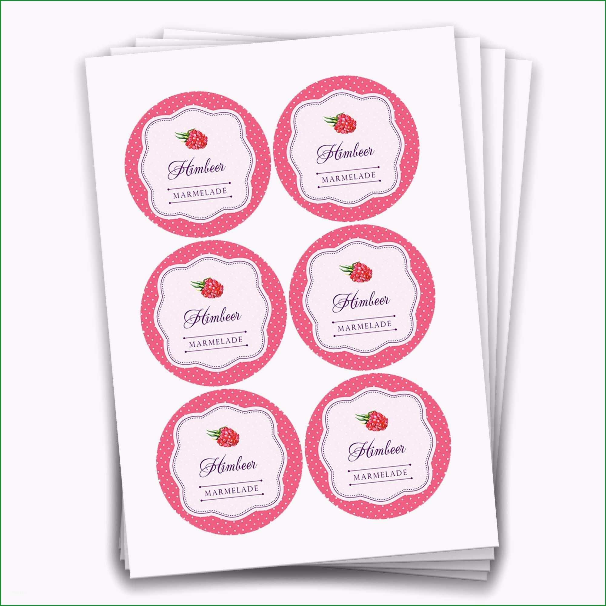 marmelade etiketten vorlage word