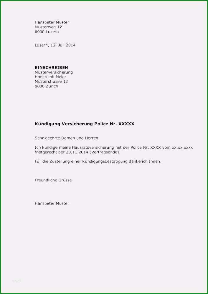 mietburgschaft vorlage neu 11 kundigung vorlage word vorlagen123 vorlagen123