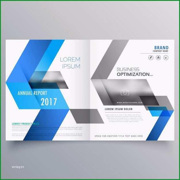 moderne broschure deckblatt design vorlage mit abstrakten blauen formen