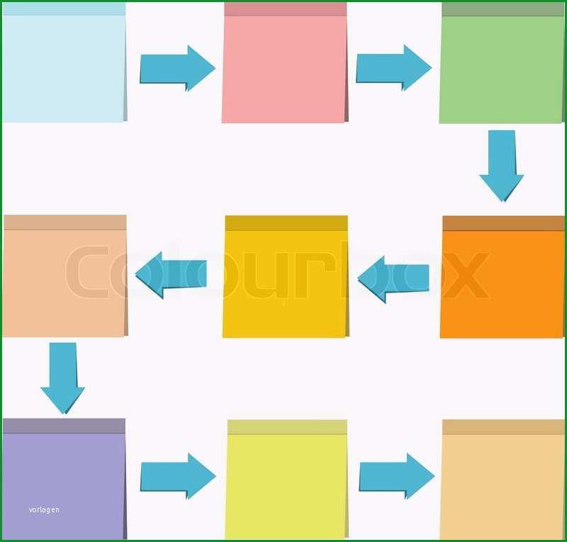 notizzettel papier diagramm vorlage vektor