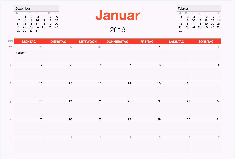 kalender 2016 monatsansicht