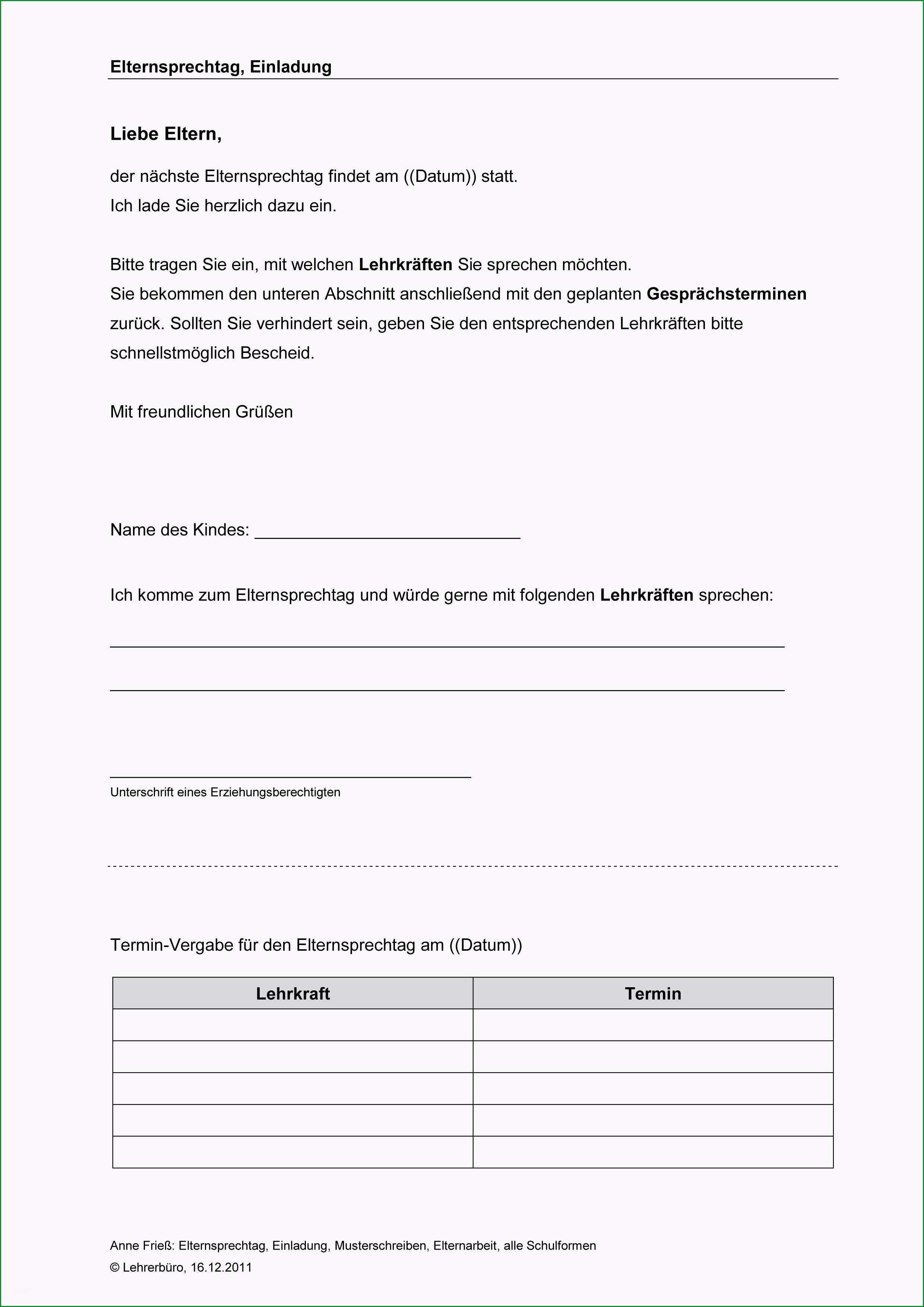 protokoll elterngesprach vorlage elternarbeit · arbeitshilfen · grundschule · lehrerburo 5