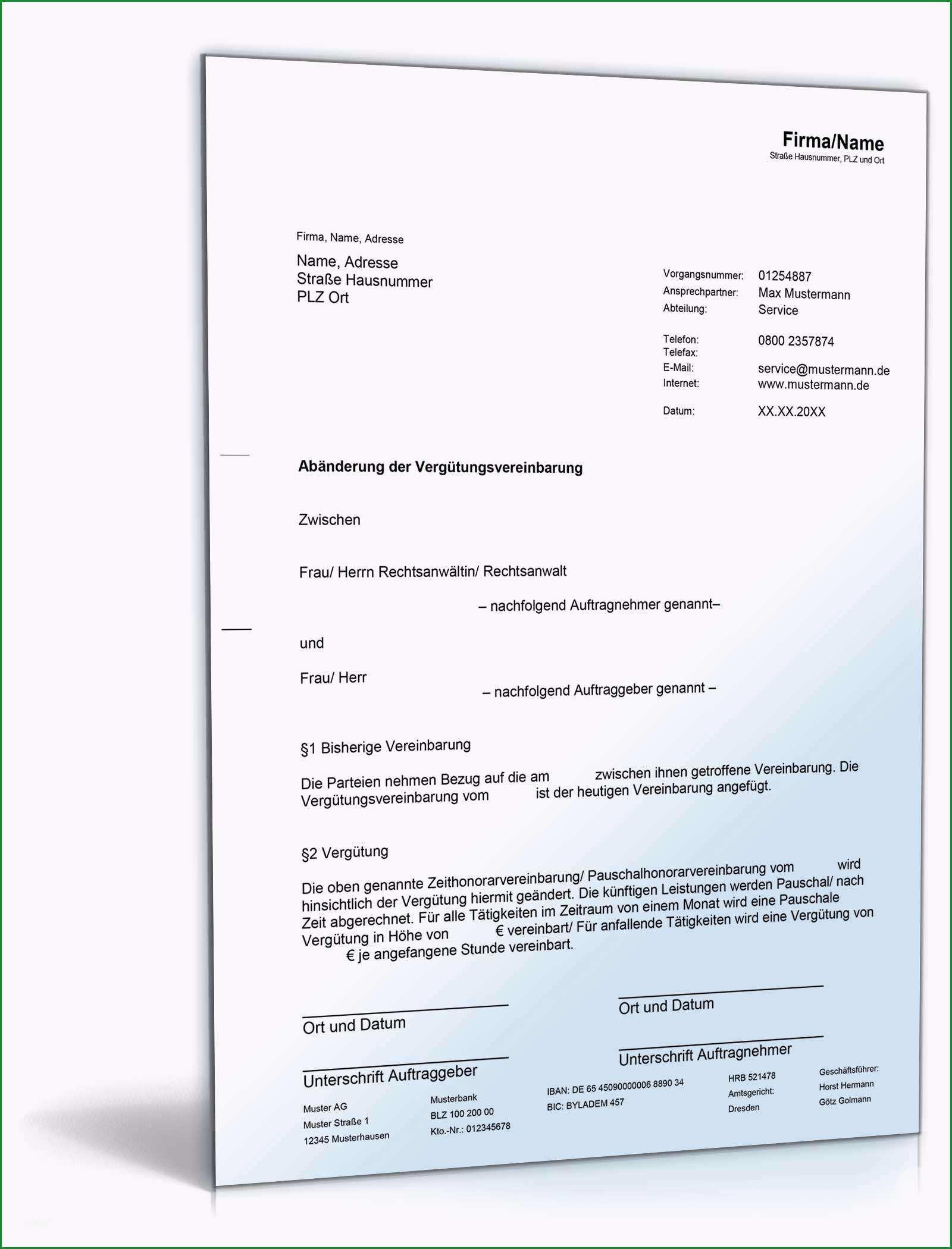 de musterbriefe rechtliches dokumente