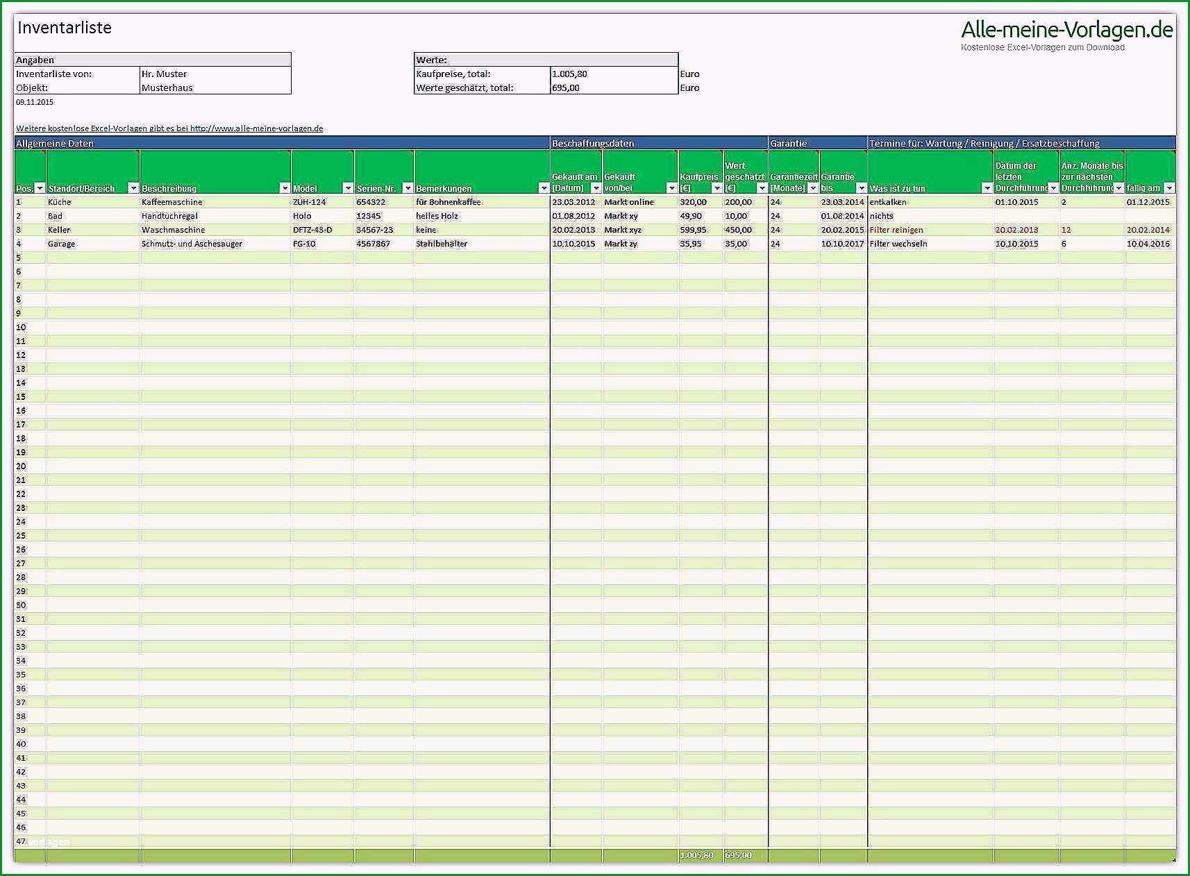 tatigkeitsbericht vorlage verein schone inventarliste