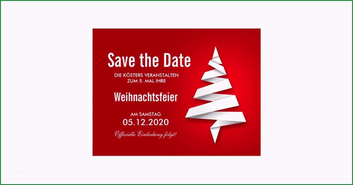 weihnachtsfeier einladung vorlage save the date postkarten