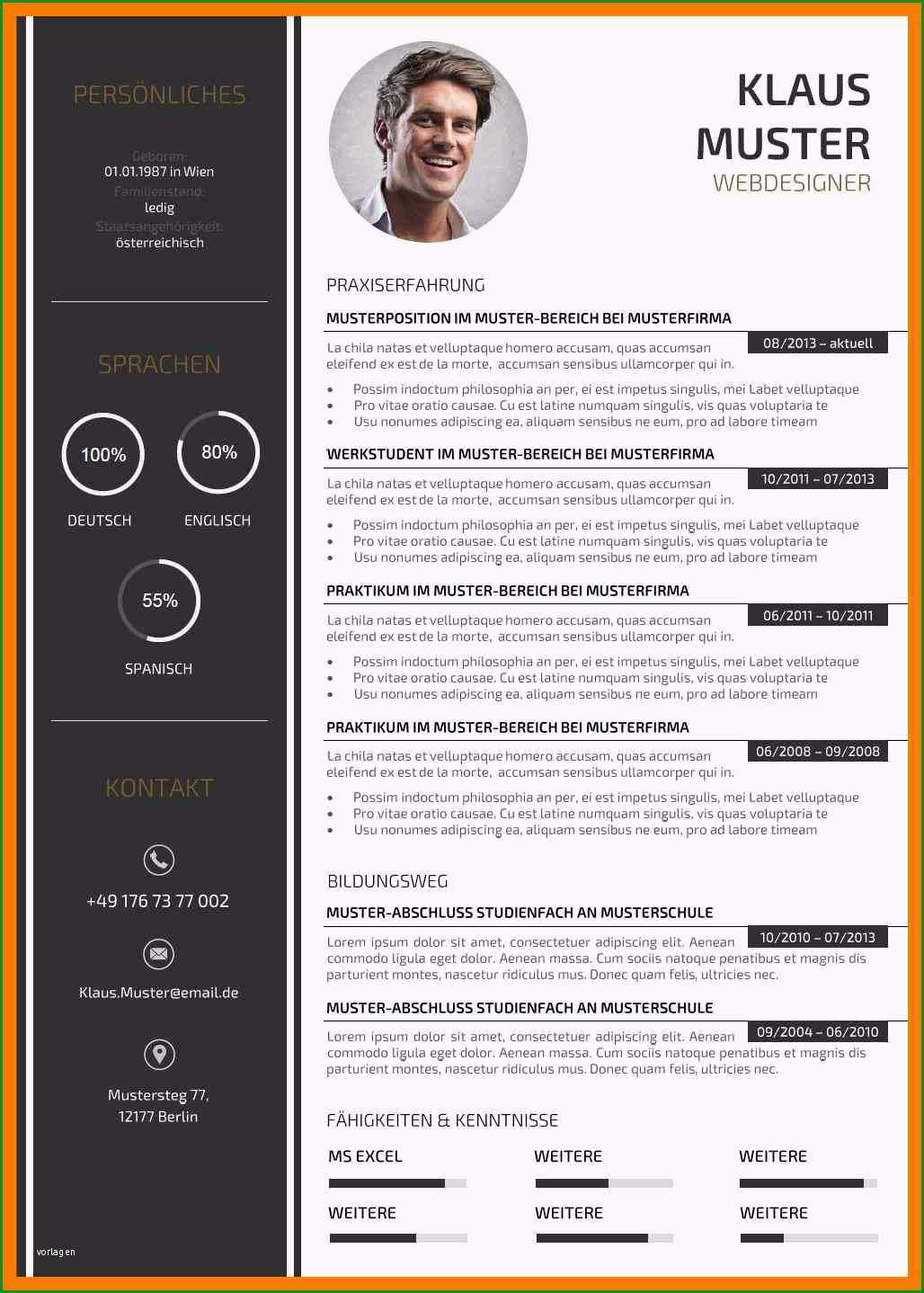 15 vorlage bewerbung design