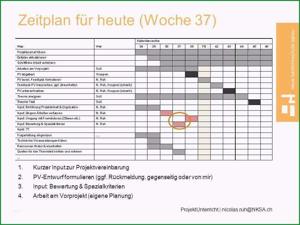 17 zeitplan vorlage word