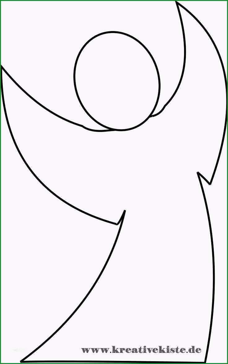 atemberaubend engelsflügel vorlage zum ausschneiden im