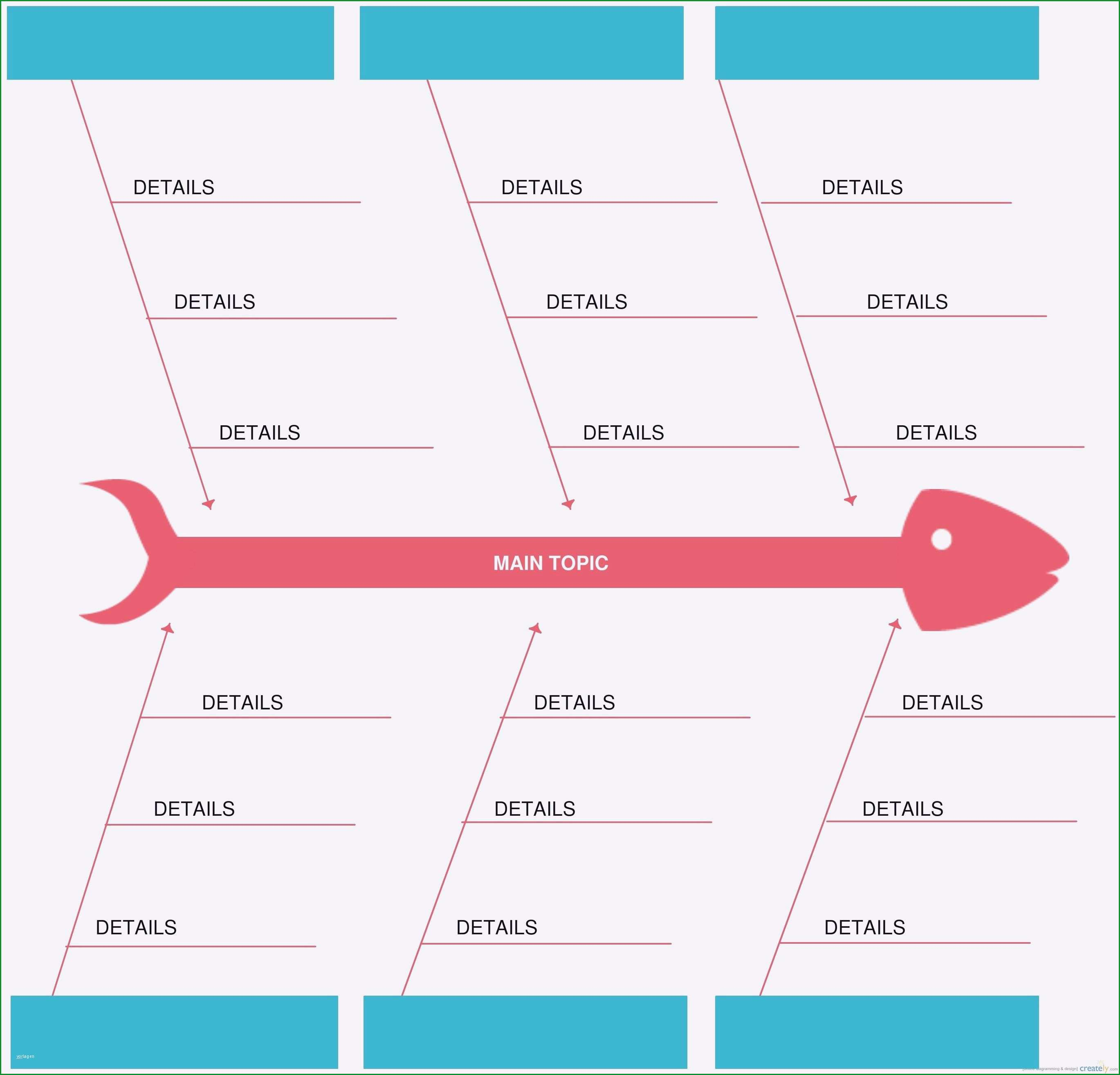 ishikawa diagramm vorlage powerpoint