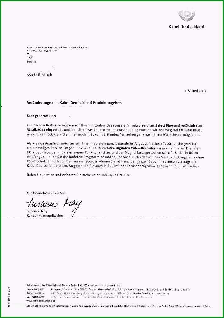 kabel deutschland kundigung vorlage der beste vod angebot von kabel deutschland spatestens ab september
