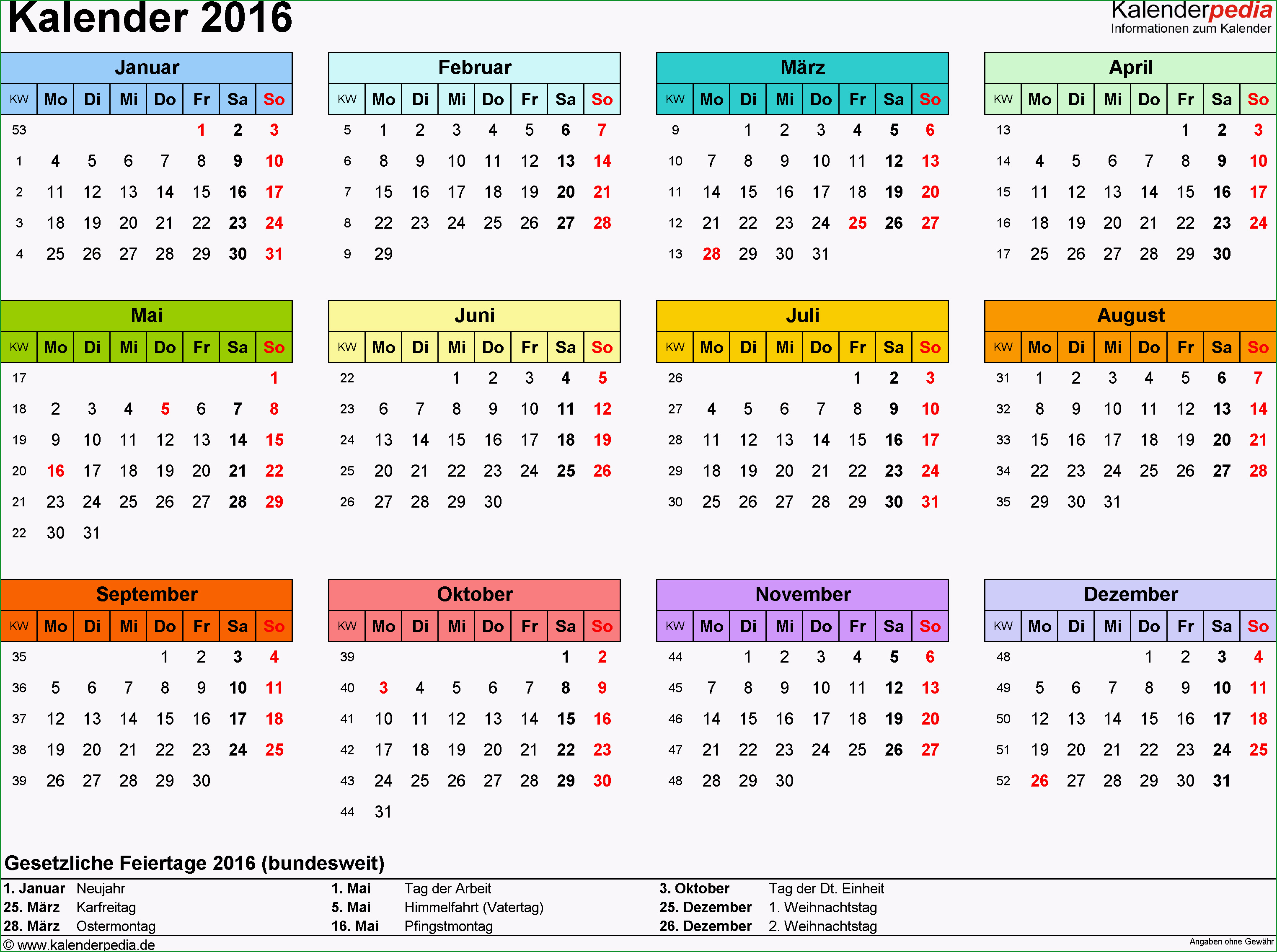 kalender 2016 pdf vorlagen