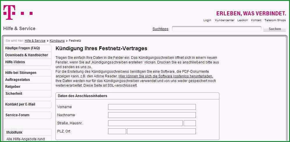 kundigungsschreiben telekom vorlage wunderbar ungewohnlich rechtsvertrage vorlagen kostenlos galerie