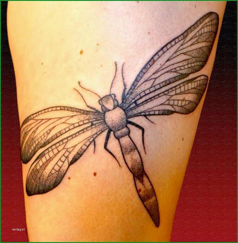 libelle tattoo ideen symbolik