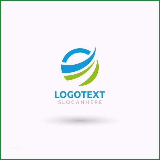 rund wave logo vorlage