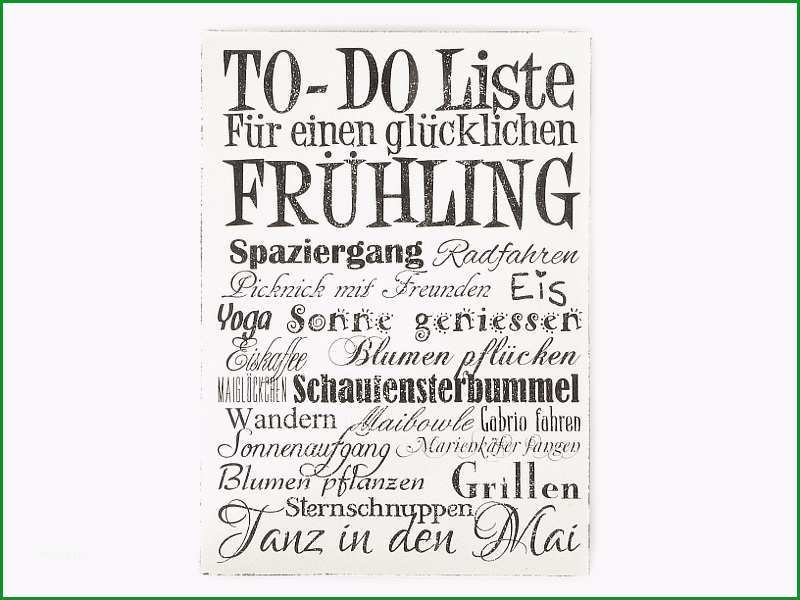 wandtafel schild vintage shabby dekoschild holzschild to do liste fruehling wandschild motivation