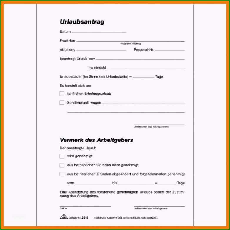 17 urlaubsantrag vorlage pdf