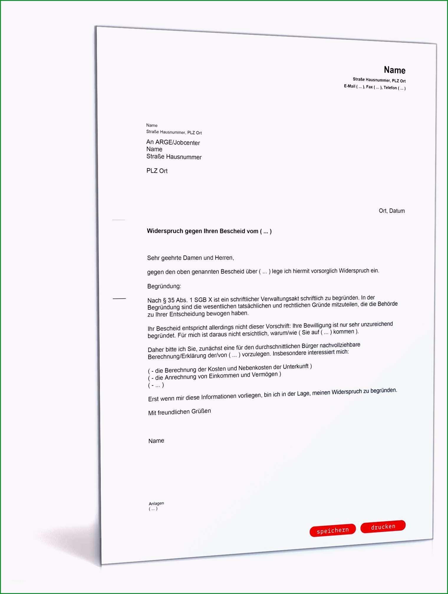 vorlage widerspruch betriebskostenabrechnung
