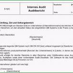 Schockieren Auditbericht Vorlage Qualitätsmanagement Qm Cube