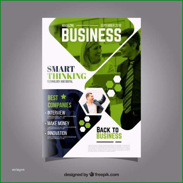 business magazin cover vorlage mit model posiert