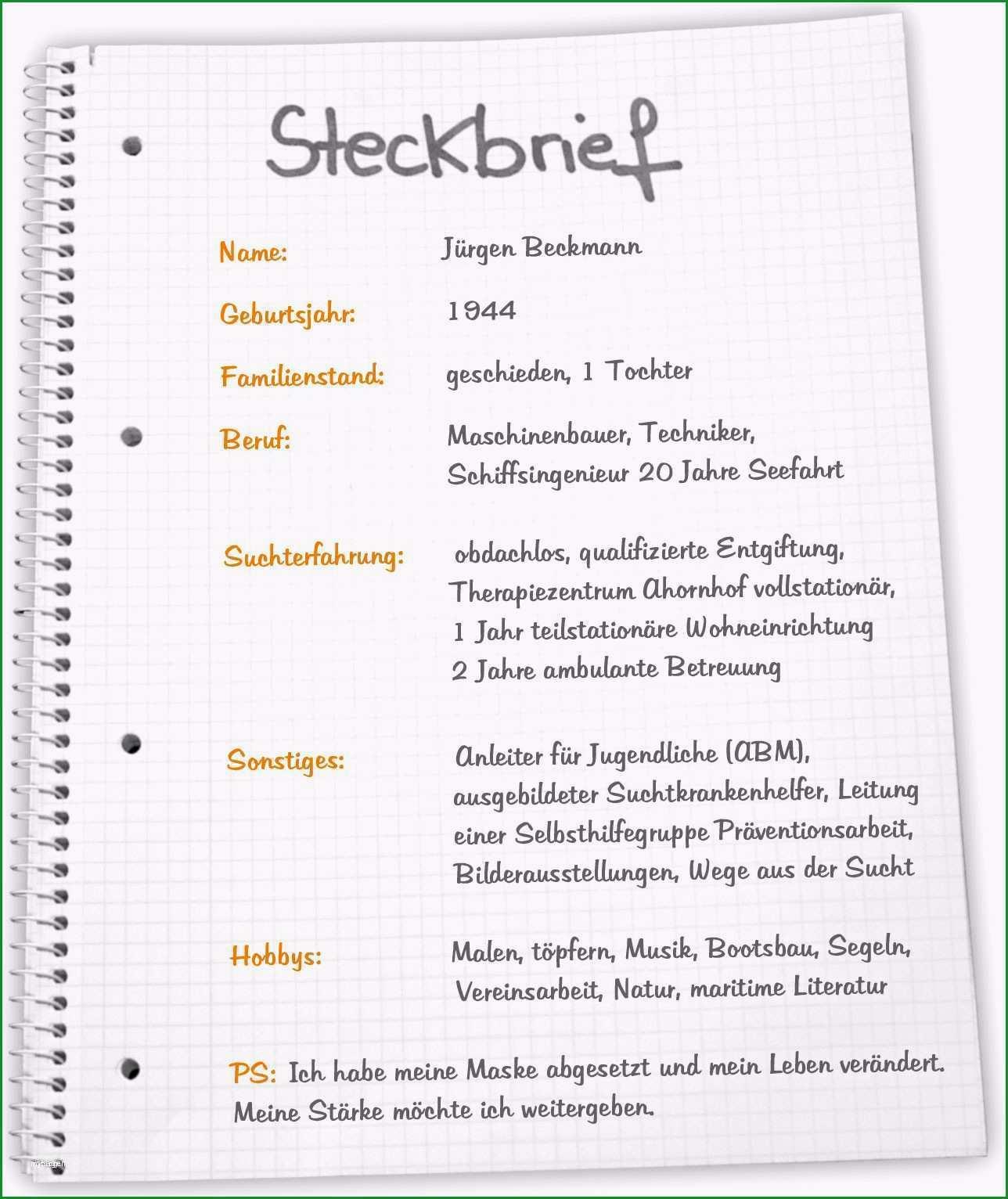 lustiger steckbrief vorlage inspiration steckbrief erzieherin kindergarten vorlage vorlagen 1001