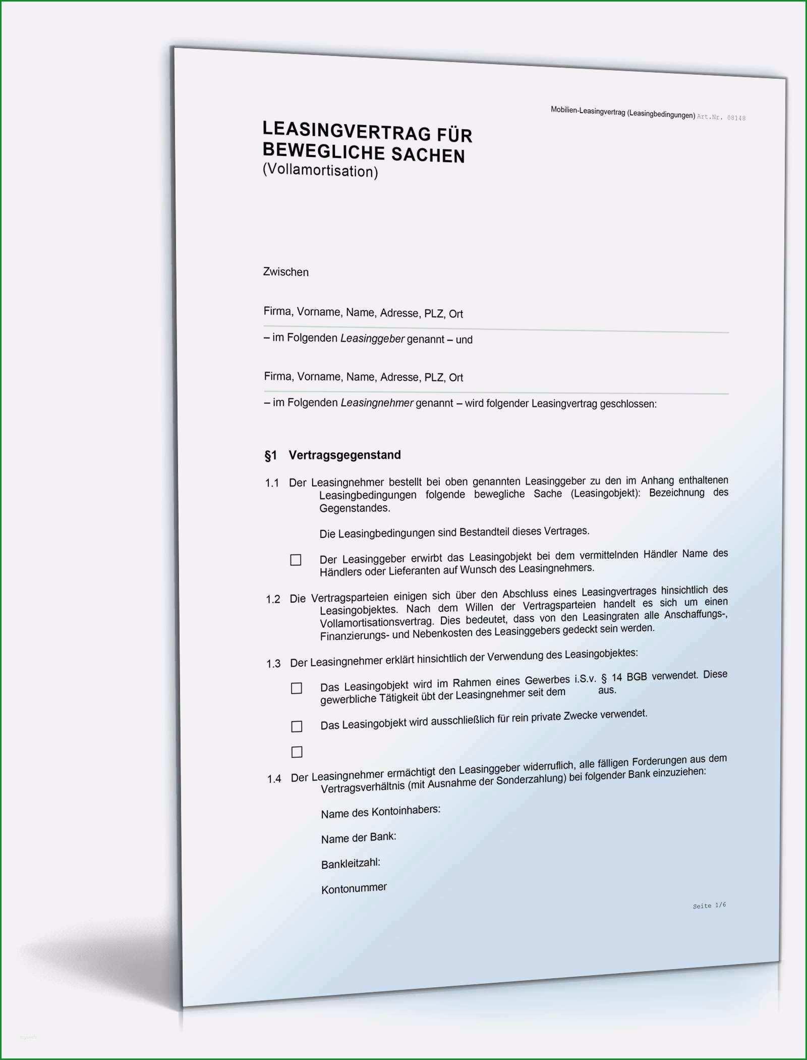 mietburgschaft vorlage kostenlos beste leasingvertrag fur bewegliche sachen muster vorlage zum