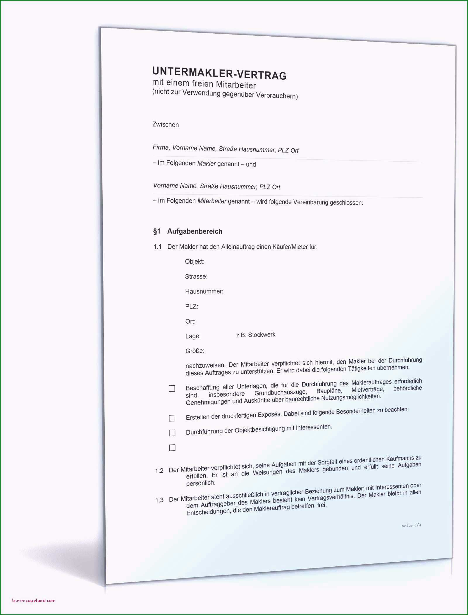 mietvertrag vorlage zum ausdrucken frisches kurzbrief vorlage zum ausdrucken