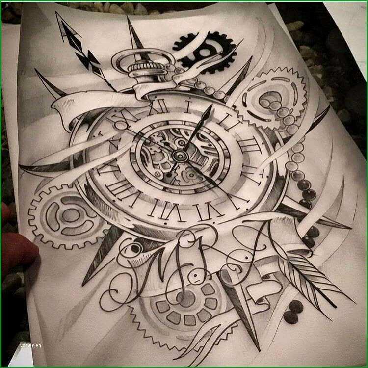 tattoo vorlagen uhr schreiben black and gray realism clock dove candle tattoo tattoos