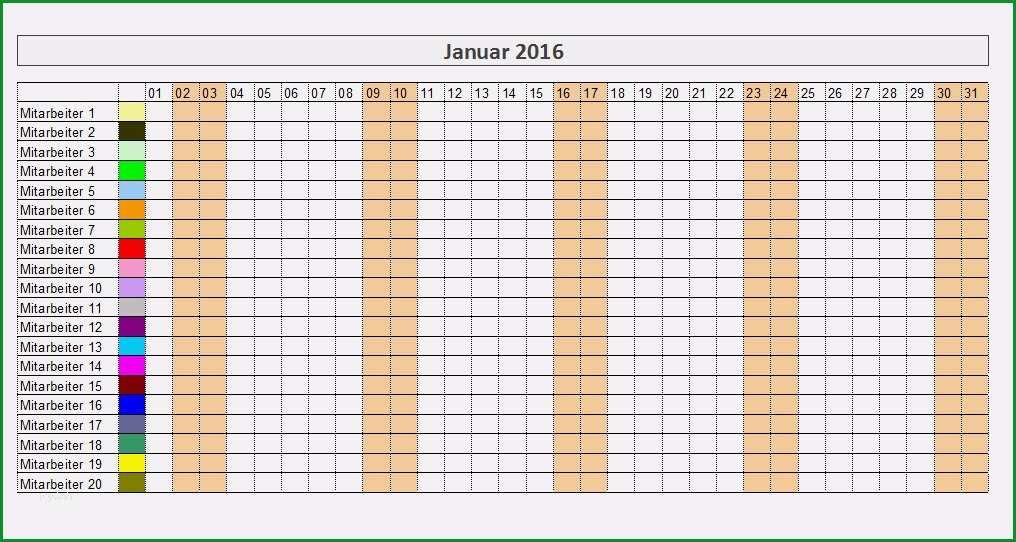 urlaubsplaner excel vorlage beste mitarbeiter monatsplan vorlage 100 images kalender