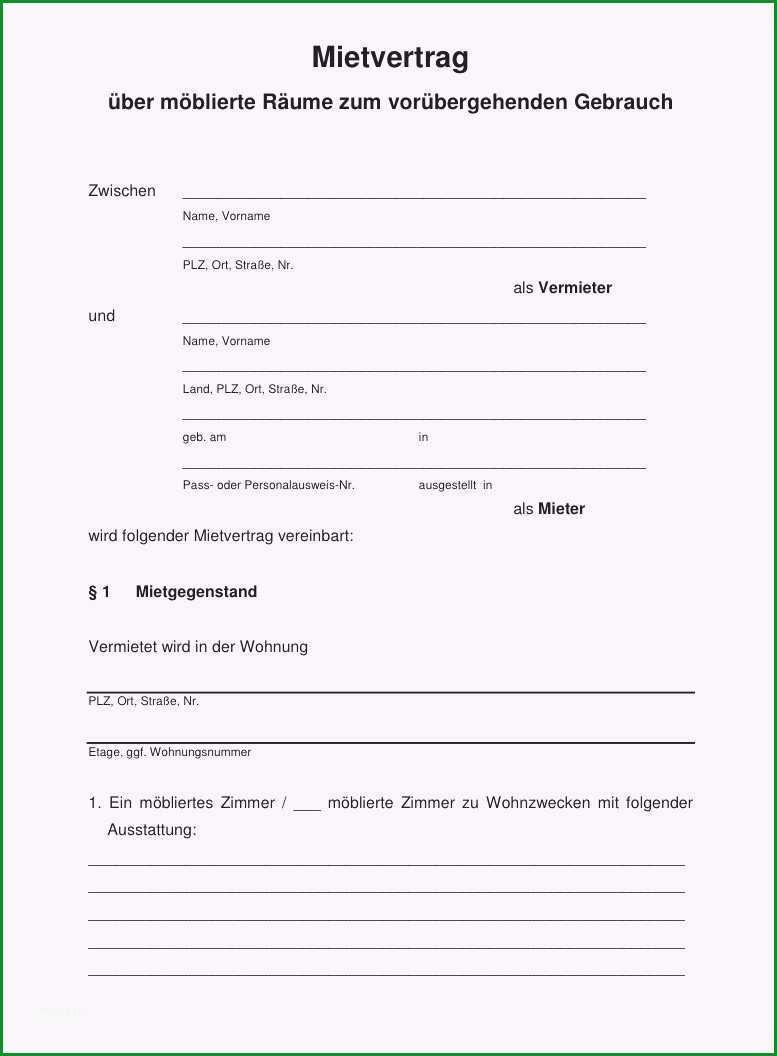 20 kundigung vertrag vorlage word