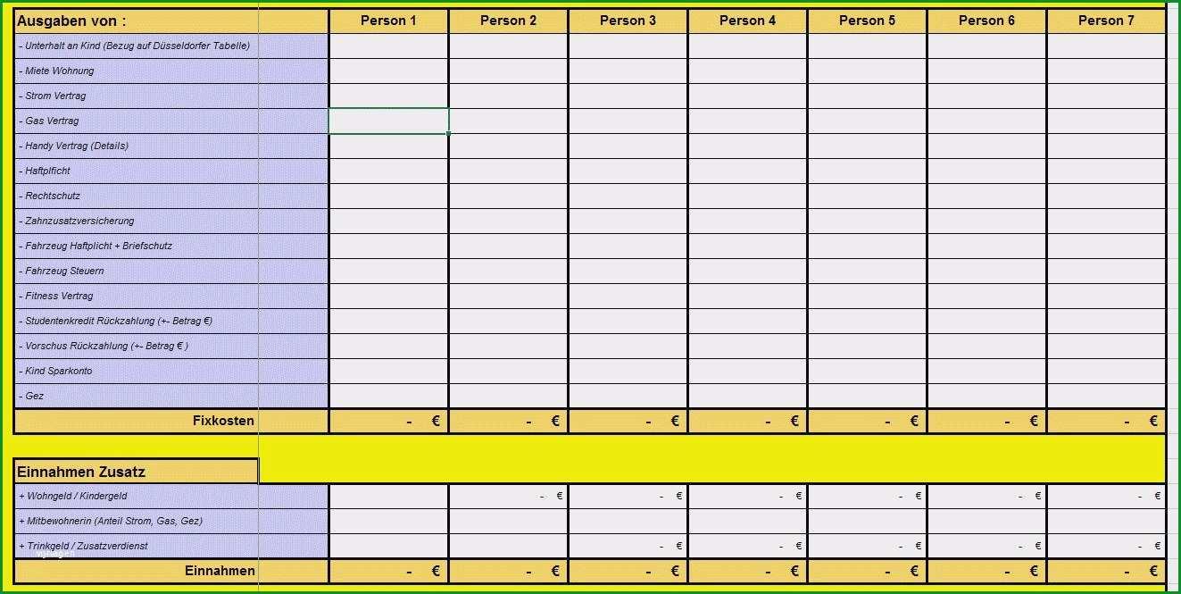 tabelle einnahmen ausgaben vorlage openoffice