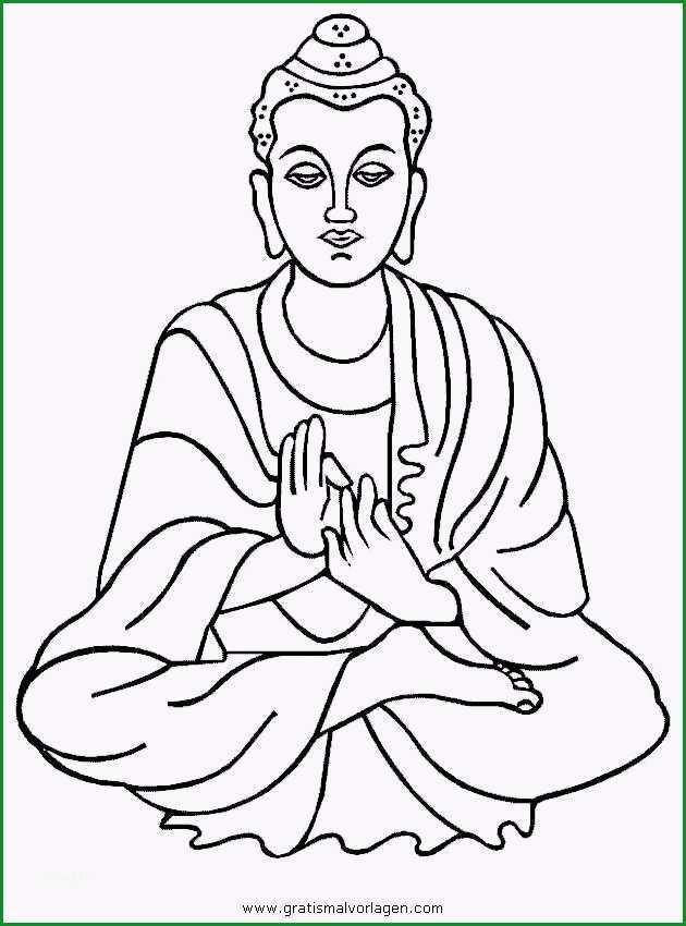 malvorlagen buddha 03