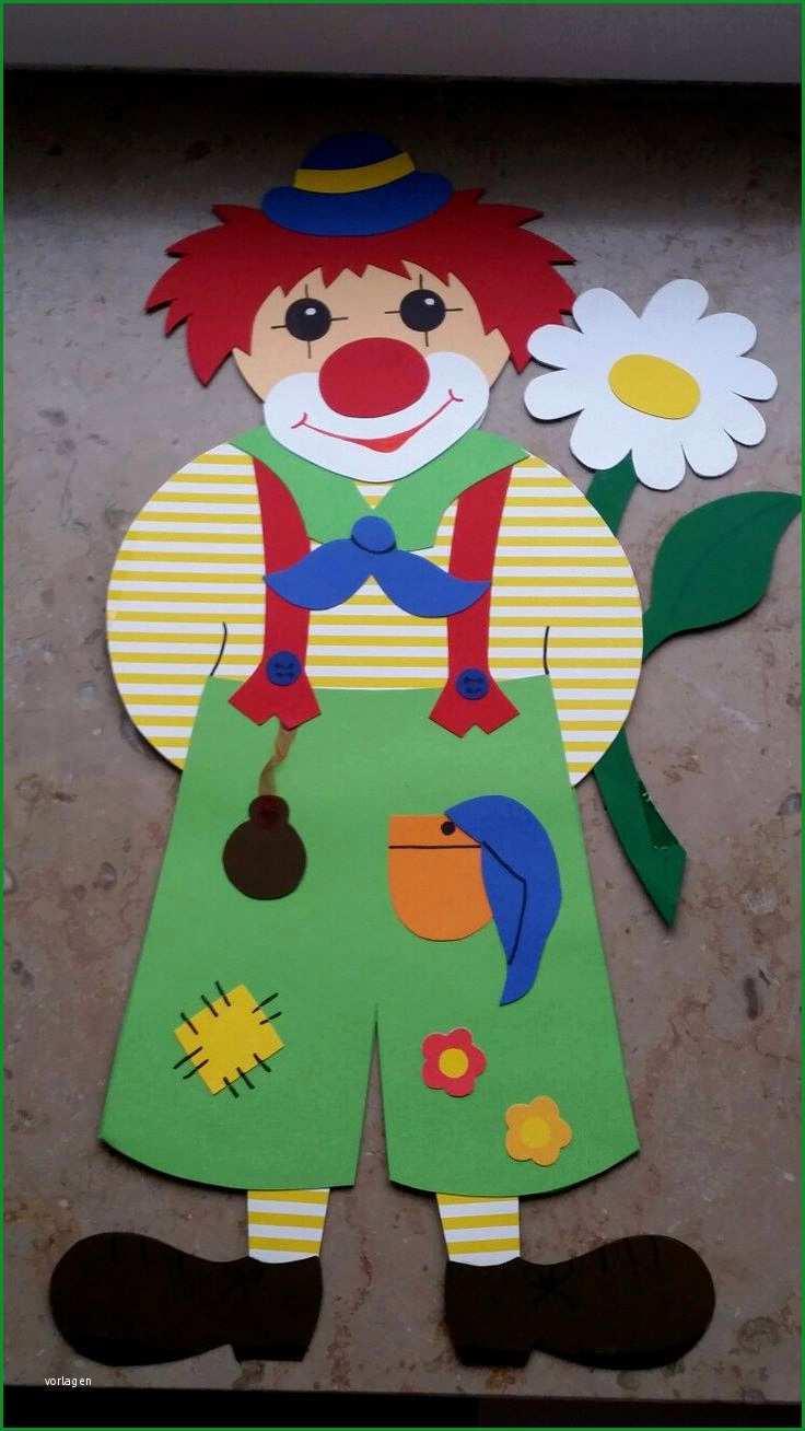 clown basteln vorlage genial cirque ayur sahasrara pertaining to clown basteln vorlage