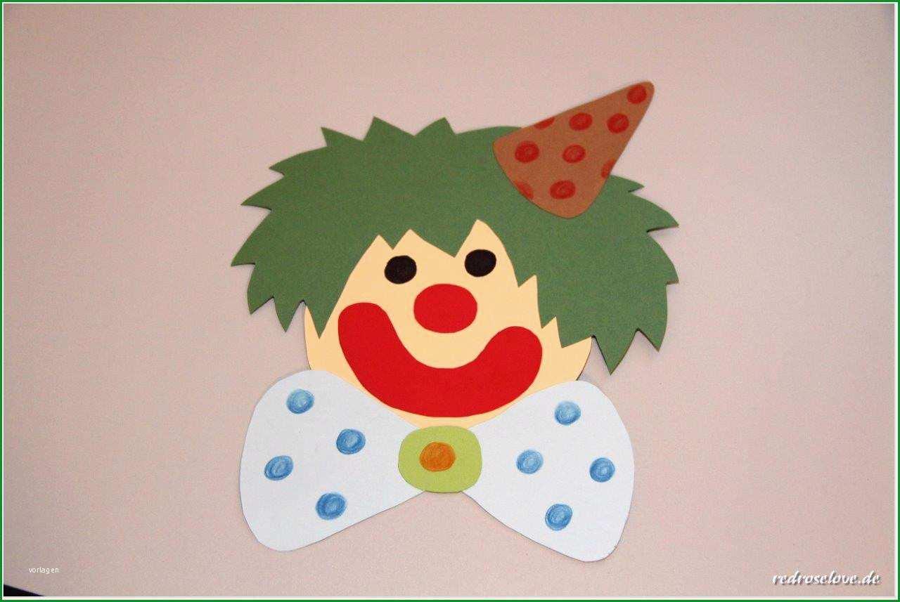 clown fensterbild vorlage